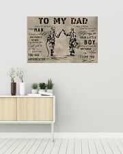 TO MY DAD - MB308 36x24 Poster poster-landscape-36x24-lifestyle-01