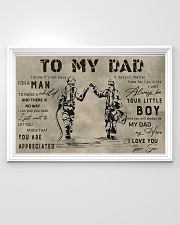 TO MY DAD - MB308 36x24 Poster poster-landscape-36x24-lifestyle-02