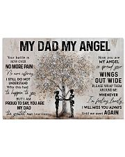 MY DAD MY ANGEL  Horizontal Poster tile