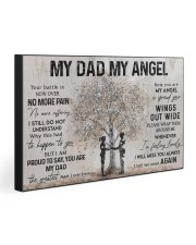 MY DAD MY ANGEL  30x20 Gallery Wrapped Canvas Prints front