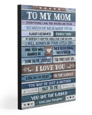 TO MY MOM  20x30 Gallery Wrapped Canvas Prints thumbnail