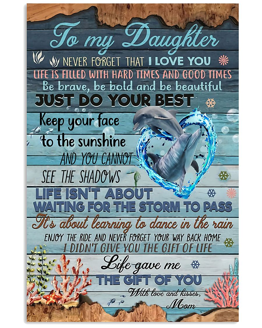 To My Daughter - MB50 11x17 Poster