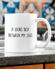 I LOVE YOUR FACE IT LOOKS BEST BETWEEN MY LEGS Mug ceramic-mug-lifestyle-57