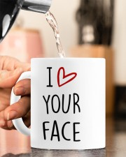 I LOVE YOUR FACE IT LOOKS BEST BETWEEN MY LEGS Mug ceramic-mug-lifestyle-65