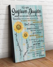TO MY SUNFLOWER DAUGHTER  20x30 Gallery Wrapped Canvas Prints aos-canvas-pgw-20x30-lifestyle-front-14