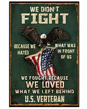 WE FOUGHT BCS WE LOVED WHAT WE LEFT BEHIND  11x17 Poster thumbnail