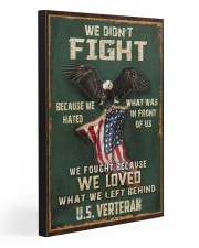 WE FOUGHT BCS WE LOVED WHAT WE LEFT BEHIND  20x30 Gallery Wrapped Canvas Prints front