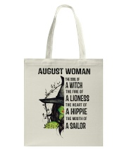 AUGUST WOMAN Tote Bag thumbnail
