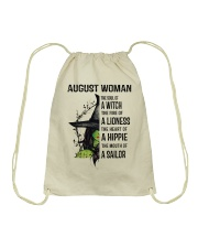AUGUST WOMAN Drawstring Bag thumbnail
