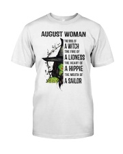 AUGUST WOMAN Classic T-Shirt front