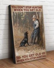 YOU GET OLD WHEN YOU STOP HUNTING 20x30 Gallery Wrapped Canvas Prints aos-canvas-pgw-20x30-lifestyle-front-14