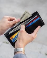 TO MY SON - BIKER  Mini Wallet aos-mini-bifold-wallet-lifestyle-front-22