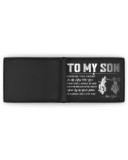 TO MY SON - BIKER  Mini Wallet full