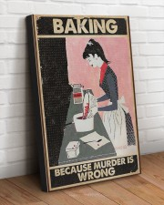 BAKING BECAUSE MURDER IS WRONG  20x30 Gallery Wrapped Canvas Prints aos-canvas-pgw-20x30-lifestyle-front-14