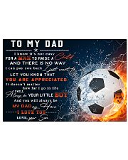 TO MY DAD - MB296 36x24 Poster front