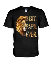 BEST PAPA EVER - MB41 V-Neck T-Shirt thumbnail