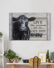 LIVE LIKE SOMEONE LEFT THE GATE OPEN 30x20 Gallery Wrapped Canvas Prints aos-canvas-pgw-30x20-lifestyle-front-03