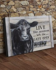 LIVE LIKE SOMEONE LEFT THE GATE OPEN 30x20 Gallery Wrapped Canvas Prints aos-canvas-pgw-30x20-lifestyle-front-21