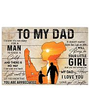 NURSE DAD  Horizontal Poster tile