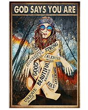 GOD SAY YOU ARE 24x36 Poster front