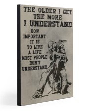 LIVE A LIFE MOST PEOPLE DON'T UNDERSTAND 20x30 Gallery Wrapped Canvas Prints front