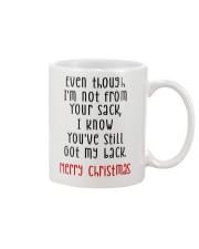 YOU'VE STILL GOT MY BACK Mug front