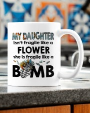 MY DAUGHTER IS FRAGILE LIKE A BOMB Mug ceramic-mug-lifestyle-57