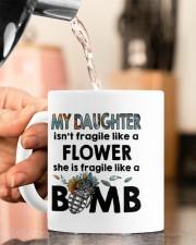 MY DAUGHTER IS FRAGILE LIKE A BOMB Mug ceramic-mug-lifestyle-65