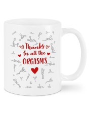 THANKS FOR ALL THE ORGASMS Mug front