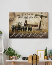 GOD SAYS YOU ARE  30x20 Gallery Wrapped Canvas Prints aos-canvas-pgw-30x20-lifestyle-front-03