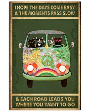 THE DAYS COME EASY AND THE MOMENTS PASS SLOW  11x17 Poster thumbnail