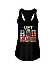 VET BOD LIKE DAD BOD BUT WITH MORE KNEE PAIN   Ladies Flowy Tank thumbnail
