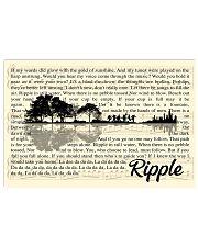 RIPPLE  Horizontal Poster tile