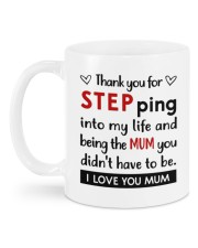 THANK YOU FOR STEPPING INTO MY LIFE Mug back
