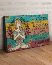 THE HEART OF A HIPPIE  30x20 Gallery Wrapped Canvas Prints aos-canvas-pgw-30x20-lifestyle-front-07