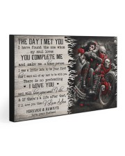 THE DAY I MET YOU  30x20 Gallery Wrapped Canvas Prints front