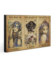 THE HEART OF A HIPPIE 30x20 Gallery Wrapped Canvas Prints front