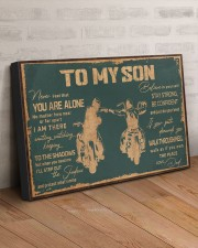 TO MY SON 30x20 Gallery Wrapped Canvas Prints aos-canvas-pgw-30x20-lifestyle-front-07