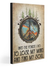 TO LOSE MY MIND AND FIND MY SOUL 20x30 Gallery Wrapped Canvas Prints front