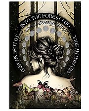 INTO THE FOREST I GO   Vertical Poster tile