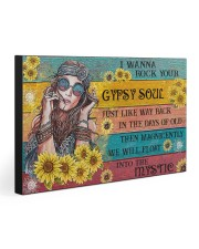 I WANNA ROCK YOUR GYPSY SOUL 30x20 Gallery Wrapped Canvas Prints front