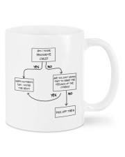 PISS OFF  Mug front