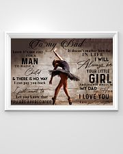 TO MY DAD - BALLET - MB333 36x24 Poster poster-landscape-36x24-lifestyle-02