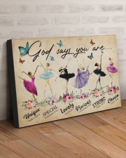 GOD SAYS YOU ARE 30x20 Gallery Wrapped Canvas Prints aos-canvas-pgw-30x20-lifestyle-front-07