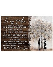 TO MY MUM  36x24 Poster front