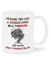 I'D BANG YOU LIKE A SCREEN DOOR IN A TORNADO  Mug front
