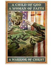 WARRIOR OF CHRIST  Vertical Poster tile