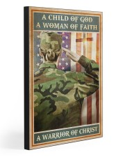 WARRIOR OF CHRIST  20x30 Gallery Wrapped Canvas Prints front