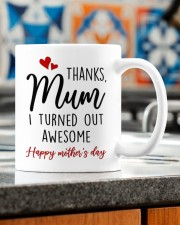 I TURNED OUT AWESOME Mug ceramic-mug-lifestyle-57