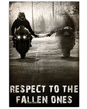 RESPECT TO THE FALLEN ONES  Vertical Poster tile